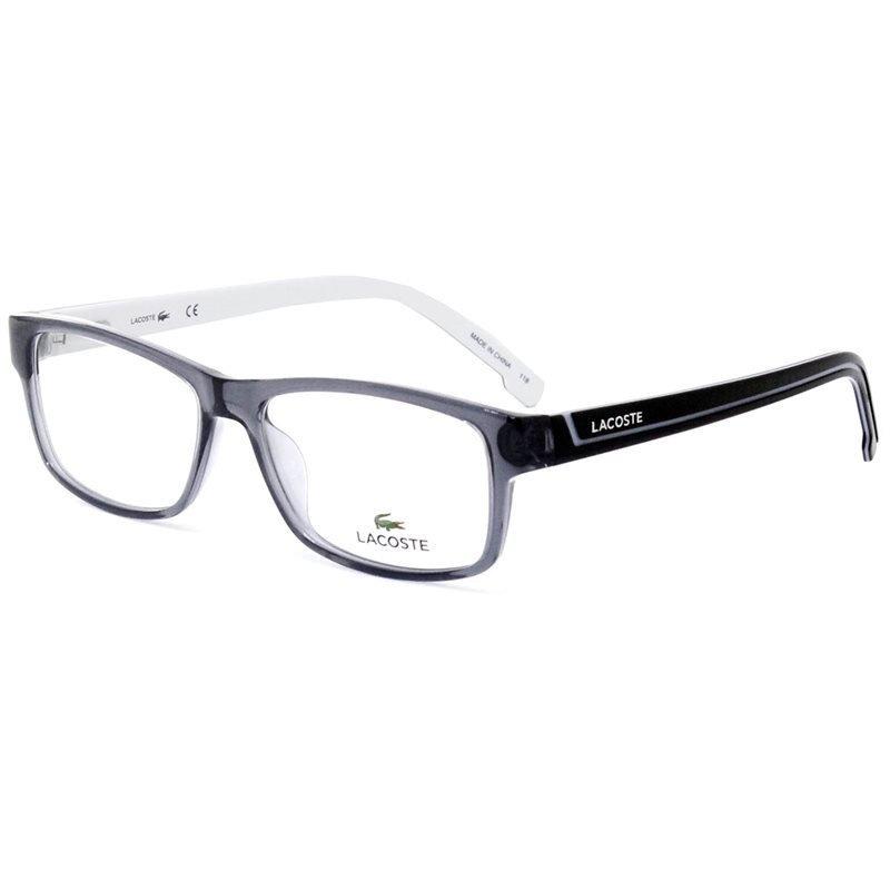 33c0a1c87f4b0 armação de óculos lacoste l2707 035 53 - cinza transparente. Carregando  zoom.