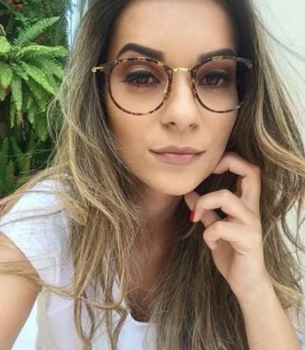armação de óculos nerd geek mulher feminino sem grau barato. Carregando  zoom. ed3c4a3bf1
