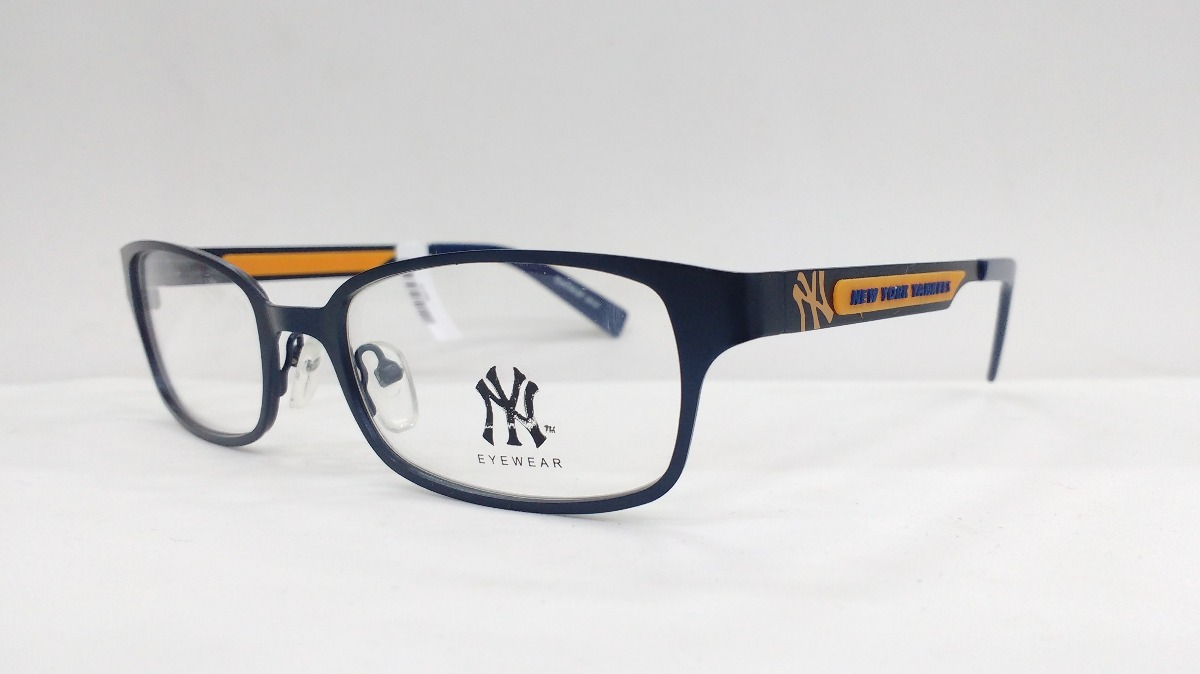 c8bcbf1e2f149 armação de óculos new york yankees nyii057 c07 52. Carregando zoom.