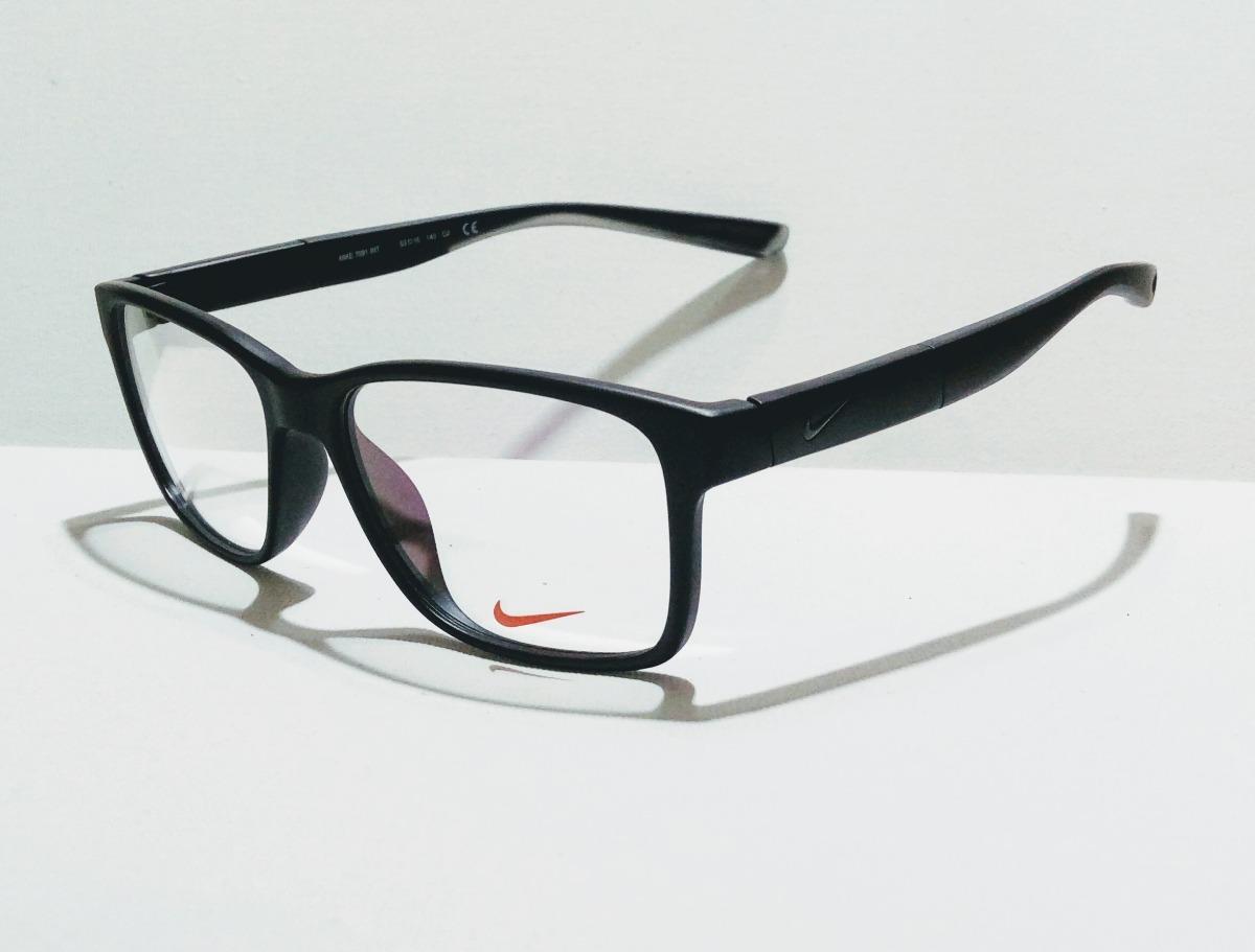 f5f084a4b4c8e Armação De Oculos Nike 7091 Para Lentes De Grau - R  120