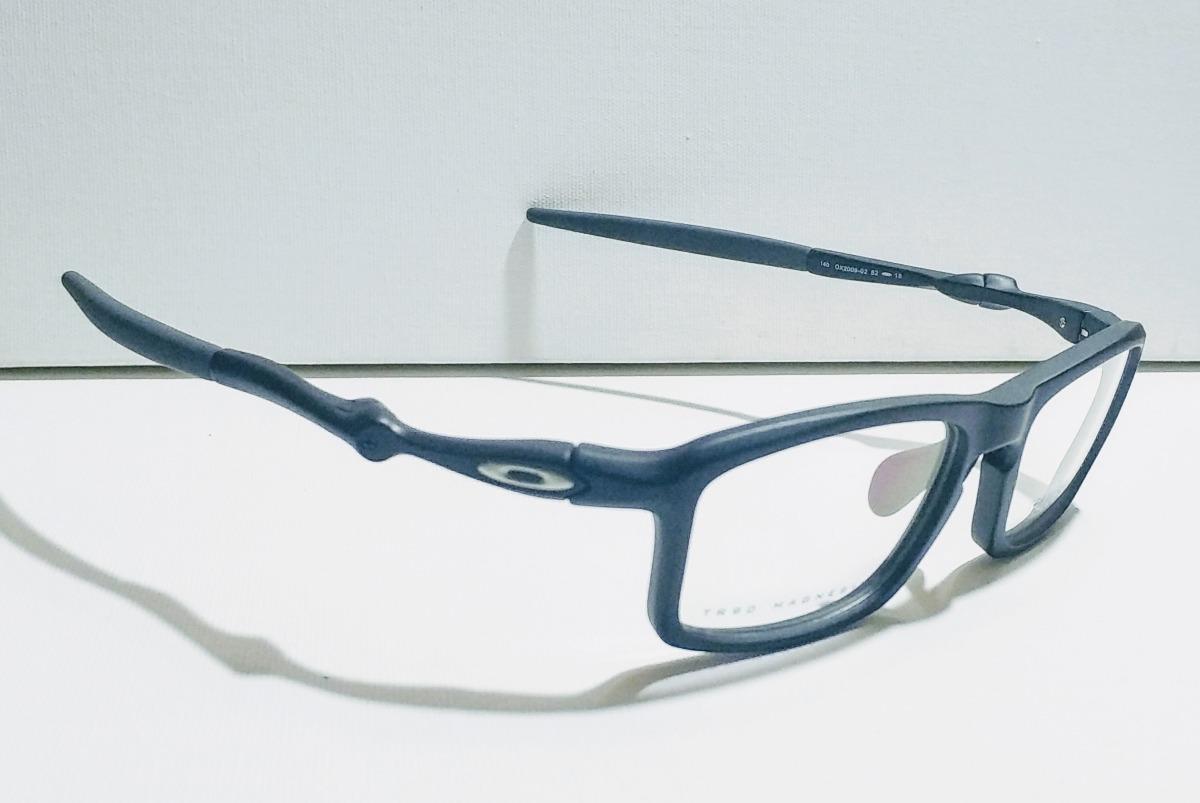 6b3a8706e8151 Armação De Óculos Oakley Badman Matte Black - R  179,00 em Mercado Livre