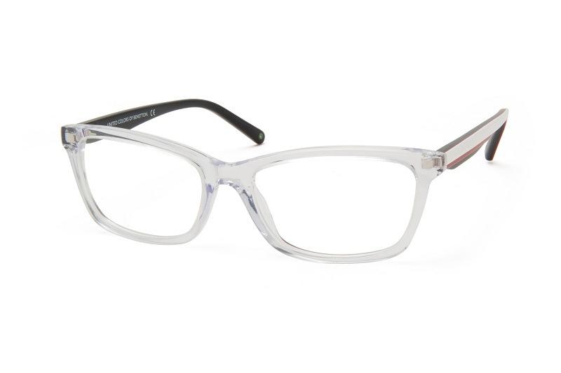 9b578ea9b Armação De Óculos P/ Grau Benetton Usa Mod.bn183v04 - R$ 129,00 em ...