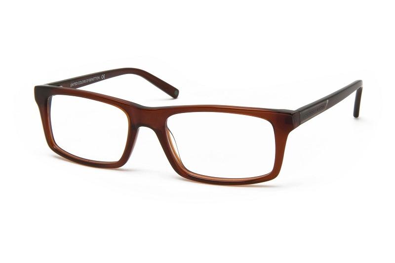 c96ebeaf3 Armação De Óculos P/ Grau Benetton Usa Mod.bn190v04 - R$ 129,00 em ...