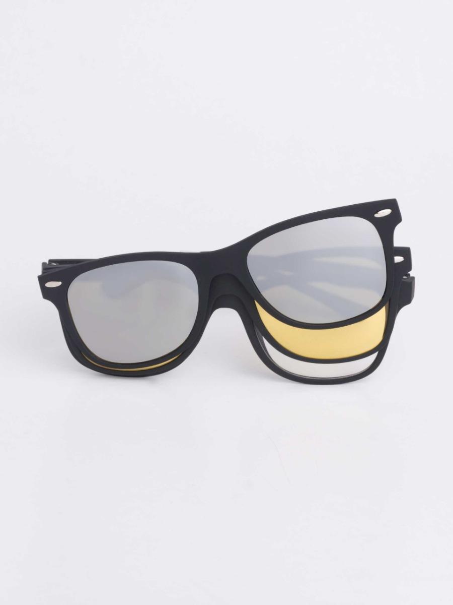 armação de óculos p  grau clip on 3 em 1 polarizado s001. Carregando zoom. 4f864cff95