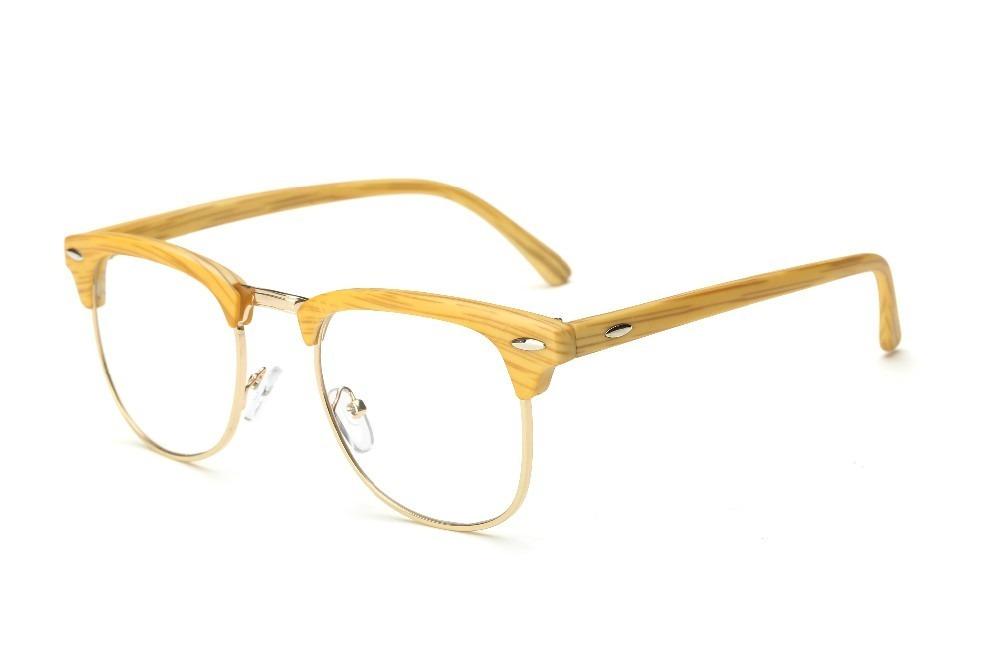 c189b204fb12b armação de óculos p  grau madeira moderno vintage. Carregando zoom.