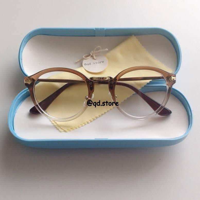 4d75183102a8e Armação De Óculos Para Grau Degrade Nerd Vintage Retro Geek - R  69 ...