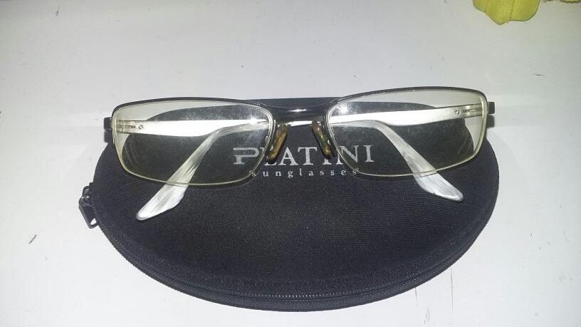 Armação De Óculos Platini - R  63,00 em Mercado Livre f42dcb90ad