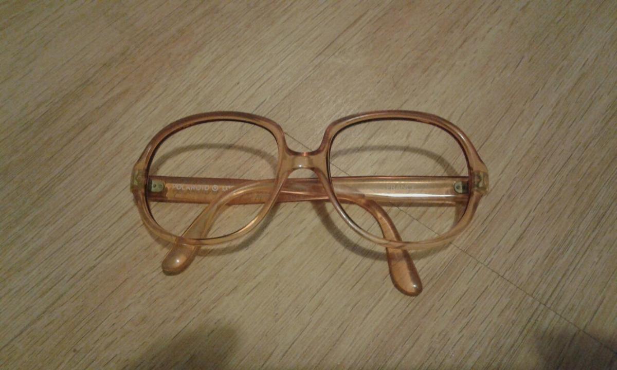 8fa2c35b828fb Armação De Óculos Polaroid Lookers Anos 70. - R  78,00 em Mercado Livre