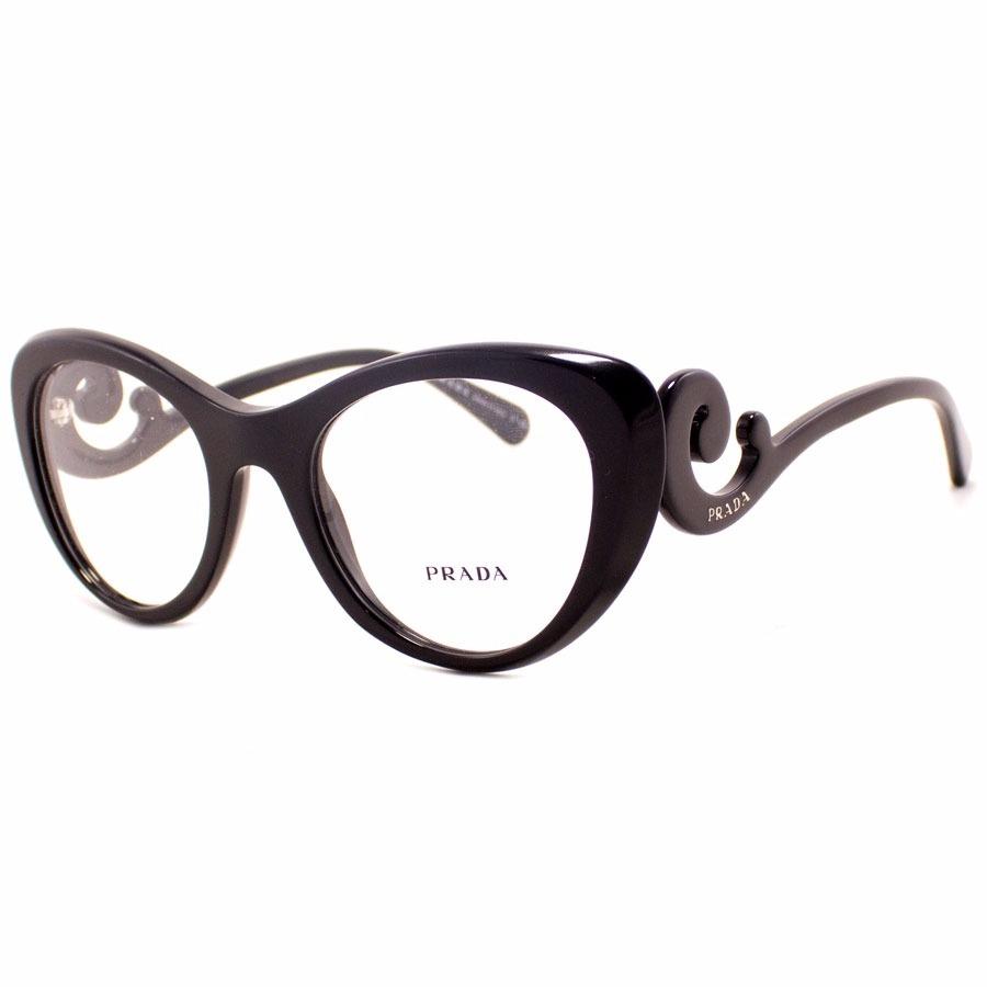 6d9b70e0e Armação De Óculos Prada Edição Especial - R$ 120,00 em Mercado Livre