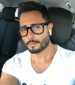 70114040b Óculos De Lente Transparente Sem Grau Masculino - Óculos no Mercado Livre  Brasil