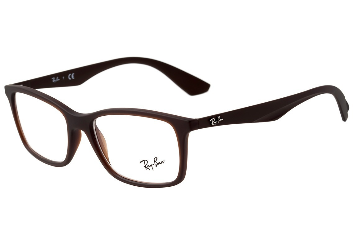 7ec21f46e Armação De Óculos Ray-ban Rb 7047l 5451 56-17 145 - R$ 379,00 em ...