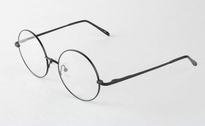 902f6a9646cae Armação De Óculos Redonda Harry Potter - R  150