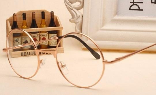 c0d1c97ab647a Armação De Óculos Redondo Vintage Harajuku Geek Kawaii - R  38