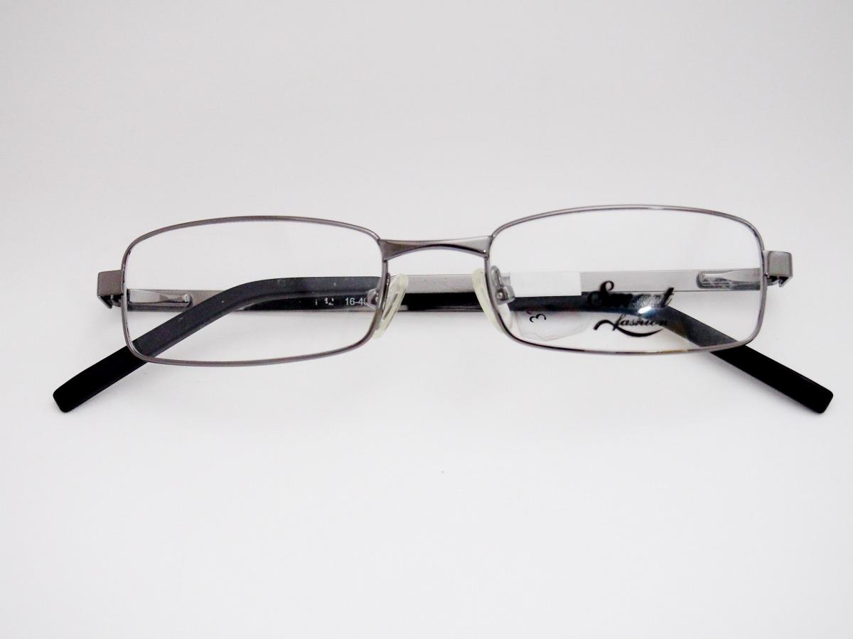Armação De Óculos Smart Grafite Retangular Estreito - R  158,00 em ... 441f7f9646