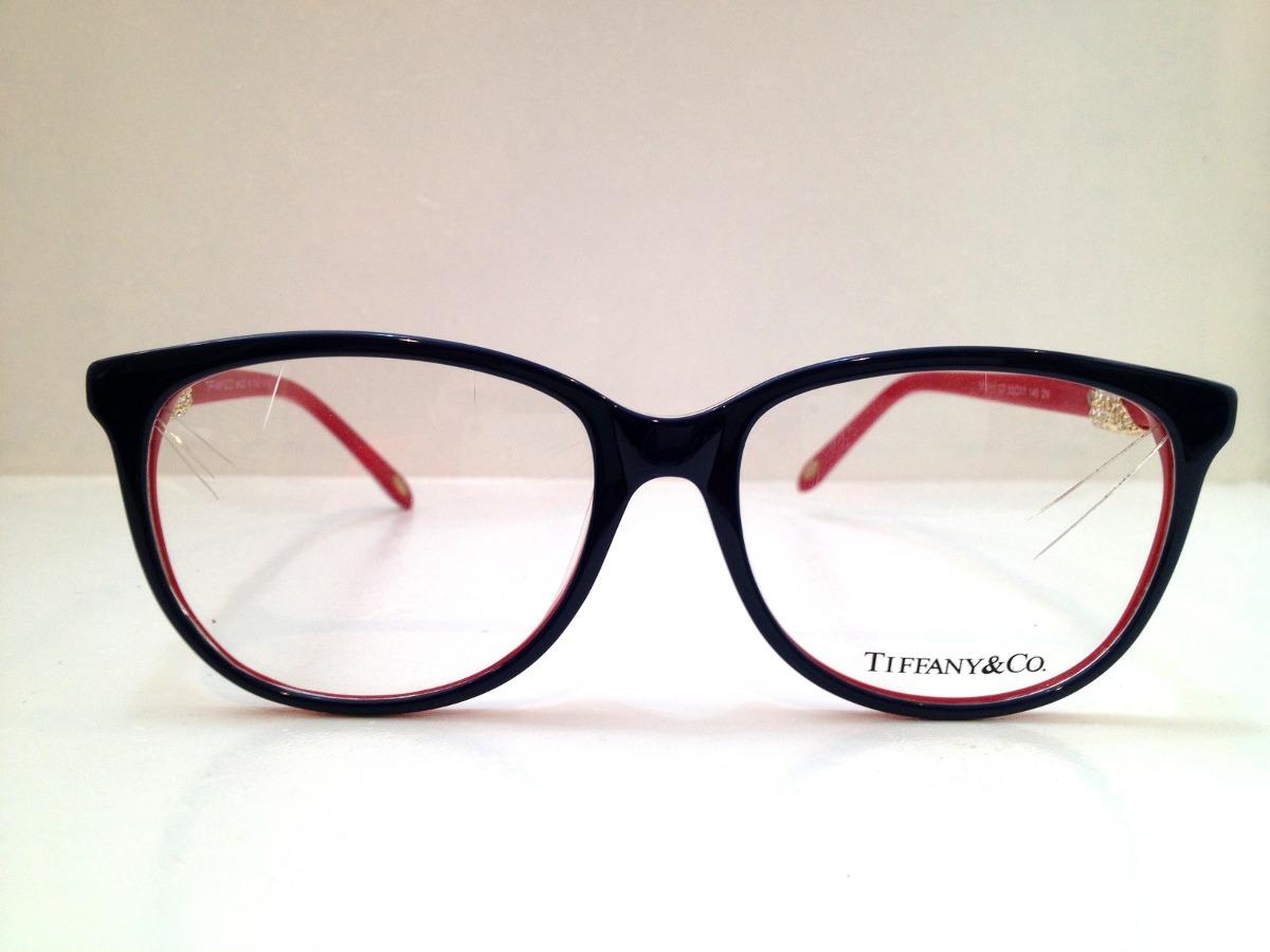 d0e07147a152c armação de óculos tiffany   co. acetato azul c  vermelho. Carregando zoom.