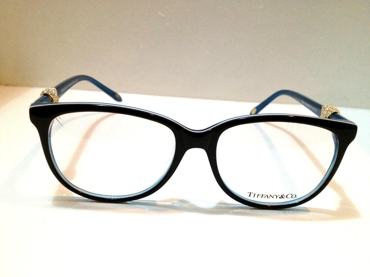 Armação De Óculos Tiffany   Co. Acetato Preto E Azul - R  189,00 em ... ff02872055