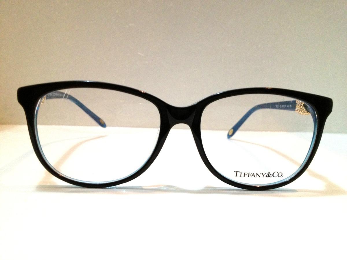 1705d2603e881 Armação De Óculos Tiffany   Co. Acetato Preto E Azul - R  189,00 em ...