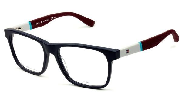 09c3e584eaba8 Armação De Óculos Tommy Hilfiger Th 1282 K6o 140 - R  399