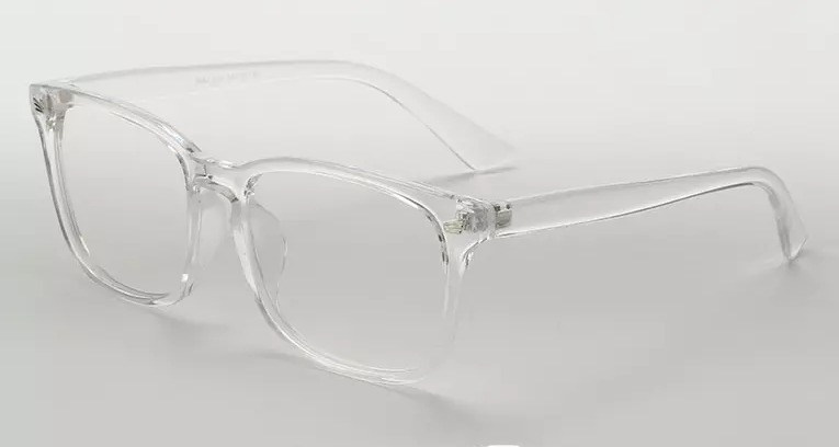 83246a8adb535 Armação De Óculos Transparente Fashion + Brinde Case - R  54