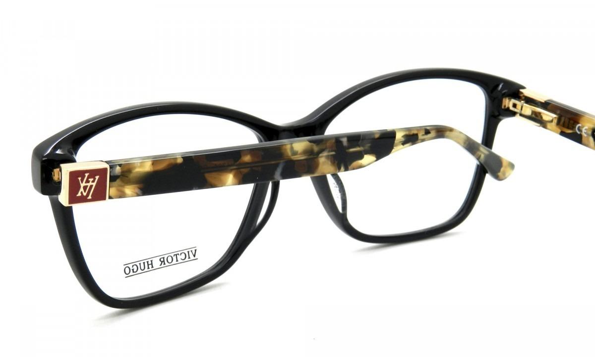 d1c5a731d8eb4 Armação De Óculos Victor Hugo Vh1724 Col.0700 140 - R  680,00 em ...