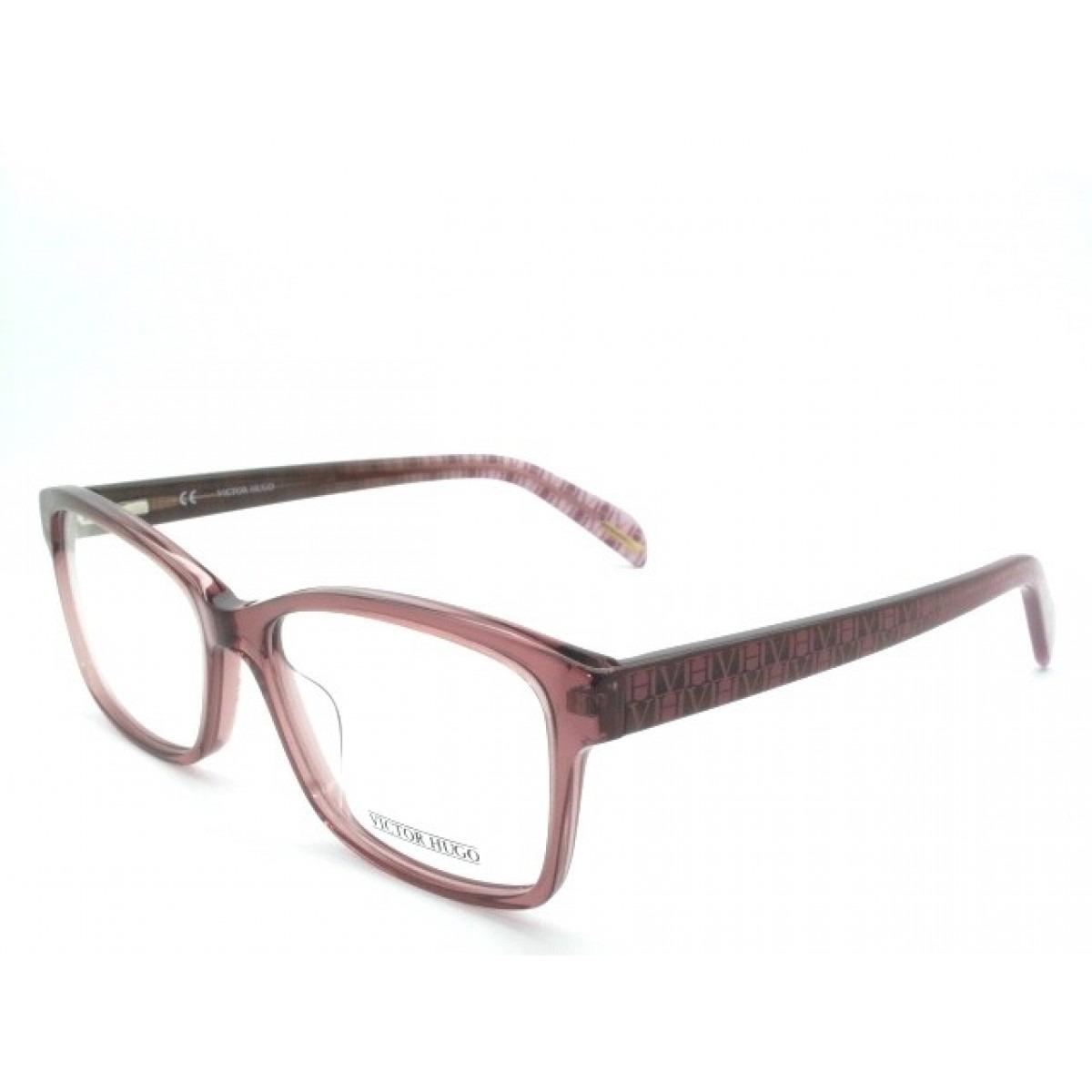 4fd2e7c1b3cb2 Armação De Óculos Victor Hugo Vh1726 Col.096d 140 - R  609,00 em Mercado  Livre