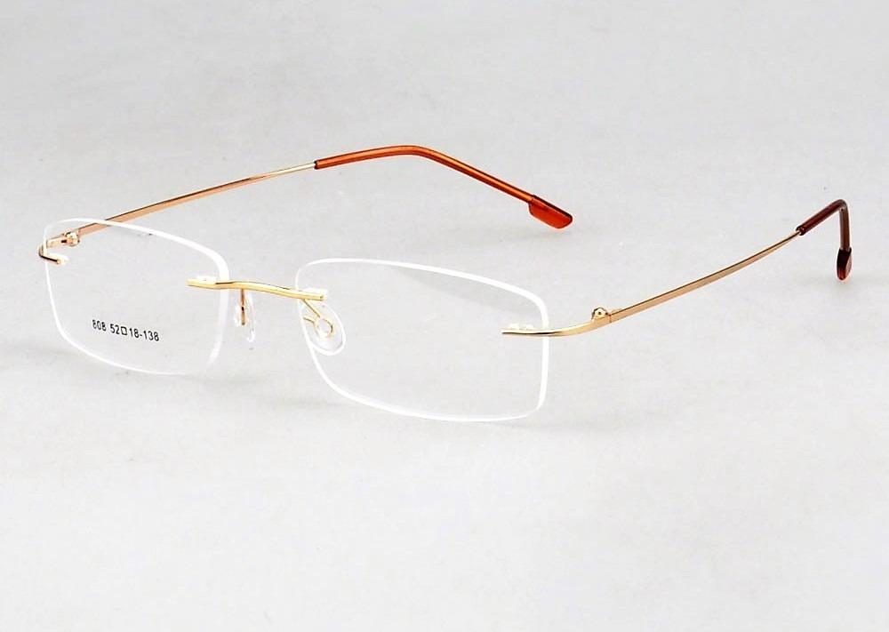 armação de titanium óculos de grau + lente policarbonato. Carregando zoom. b21b225776
