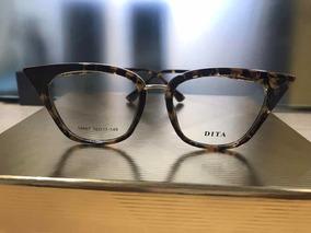 cdb80e6f0 Dita Grau Rebela - Óculos no Mercado Livre Brasil