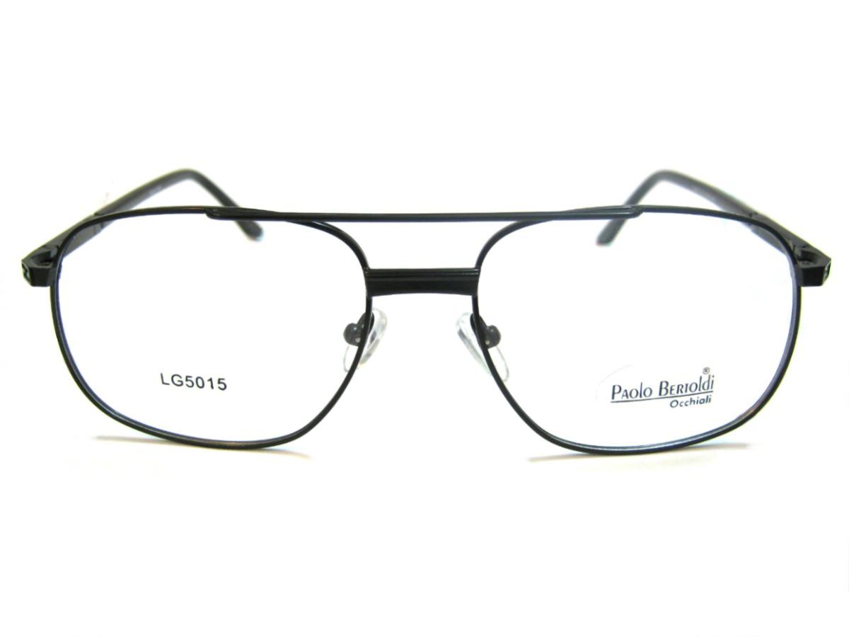 11d4e9a1b7e83 armação em metal estilo aviador preto - óculos p  grau. Carregando zoom.