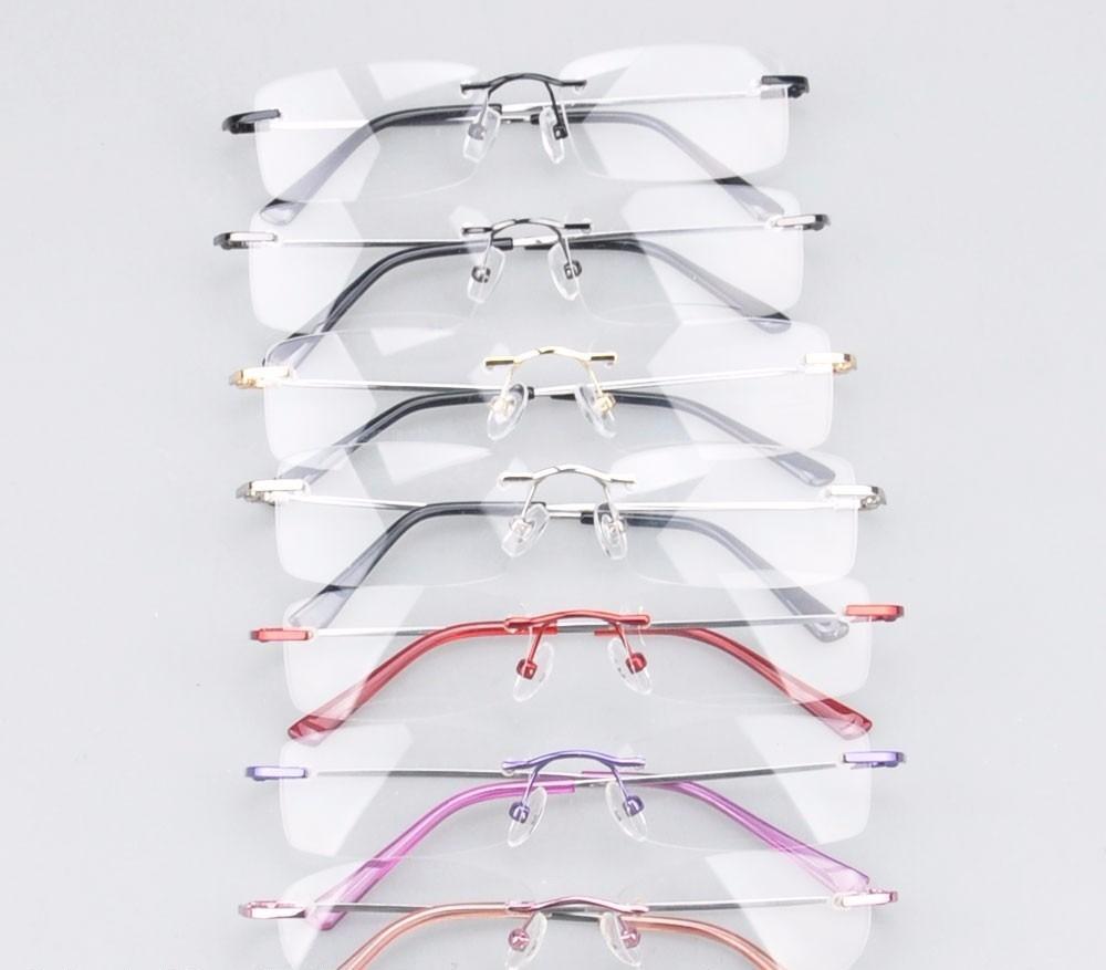 7496bc054 armação em titânio memory p/ óculos de grau haste flexível. Carregando zoom.