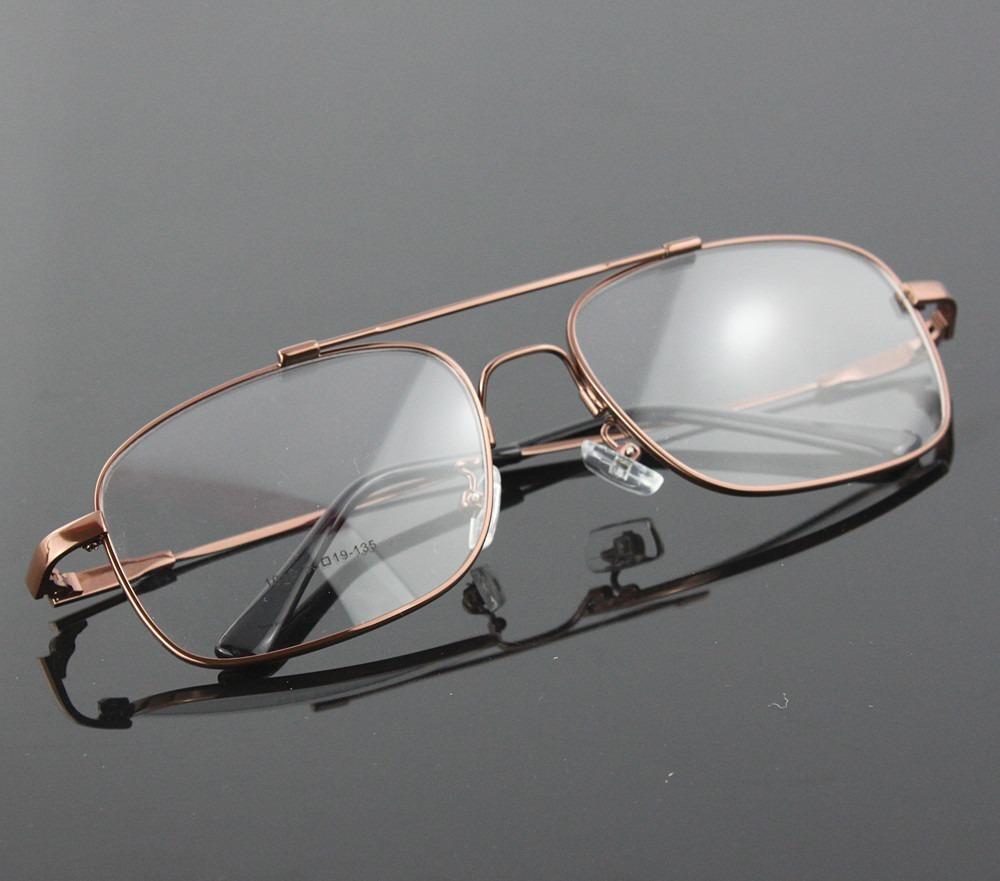 6775a51b7 Armação Em Titânio Memory P/ Óculos De Grau Modelo Aviador - R$ 65 ...