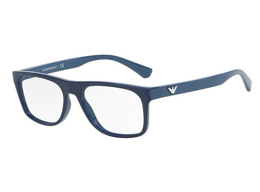 Armação Emporio Armani Ea3097 (azul, Acetato) - R  428,00 em Mercado ... 08cde04e8f