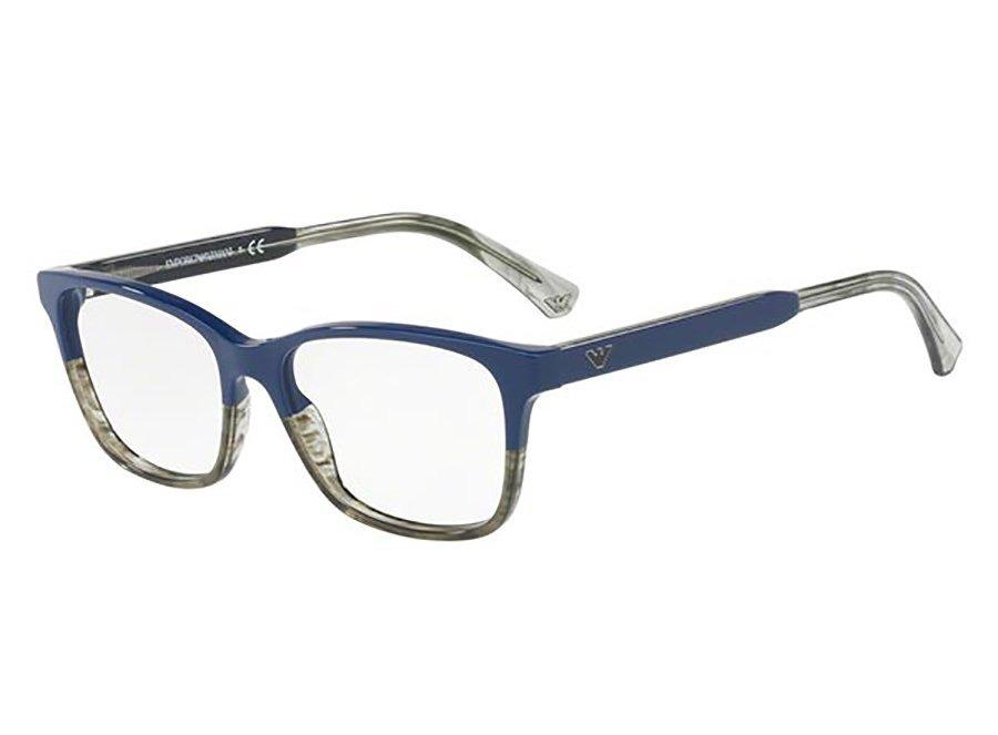 Armação Emporio Armani Ea3121 (azul, Acetato) - R  405,00 em Mercado ... 80b25c0a8a