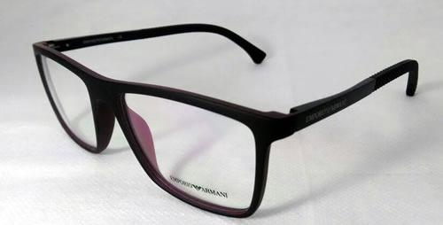 Armação Emporio Armani Ea6043 Oculos Grau Vermelho - Acetato - R ... 1692aff1b3