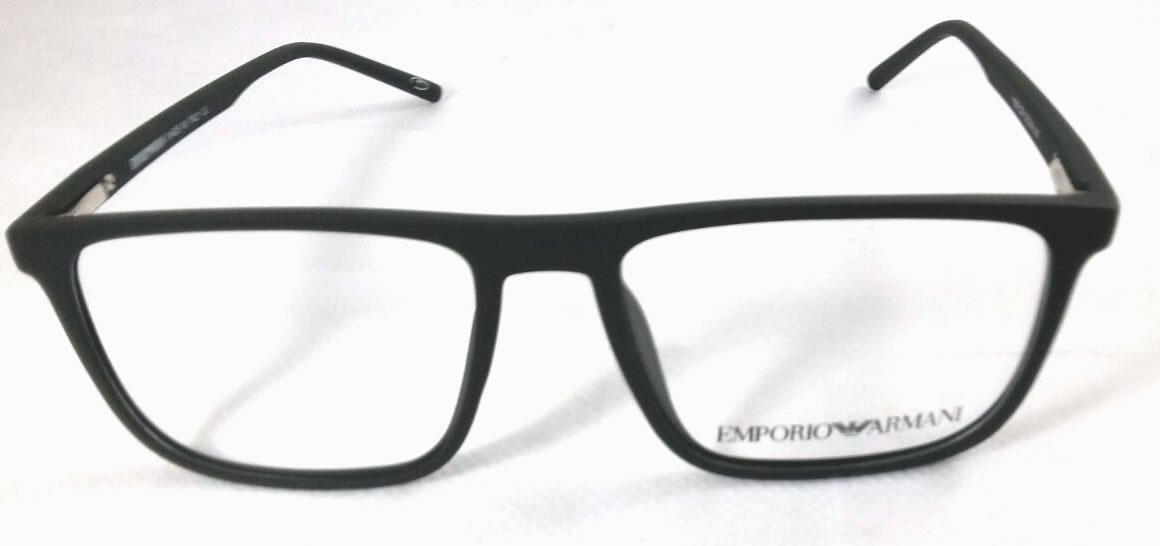 efb82237b85a1 Armação Emporio Armani Oculos Grau Preto - Acetato - R  111,59 em .