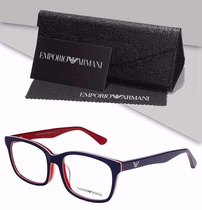 Armação Emporio Armani Oculos P  Grau Acetato Importado - R  136,99 ... 86a38ad493