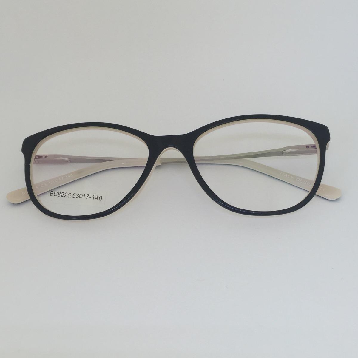 001582d83d009 armação estilo gatinho óculos de grau acetato metal 2018. Carregando zoom.