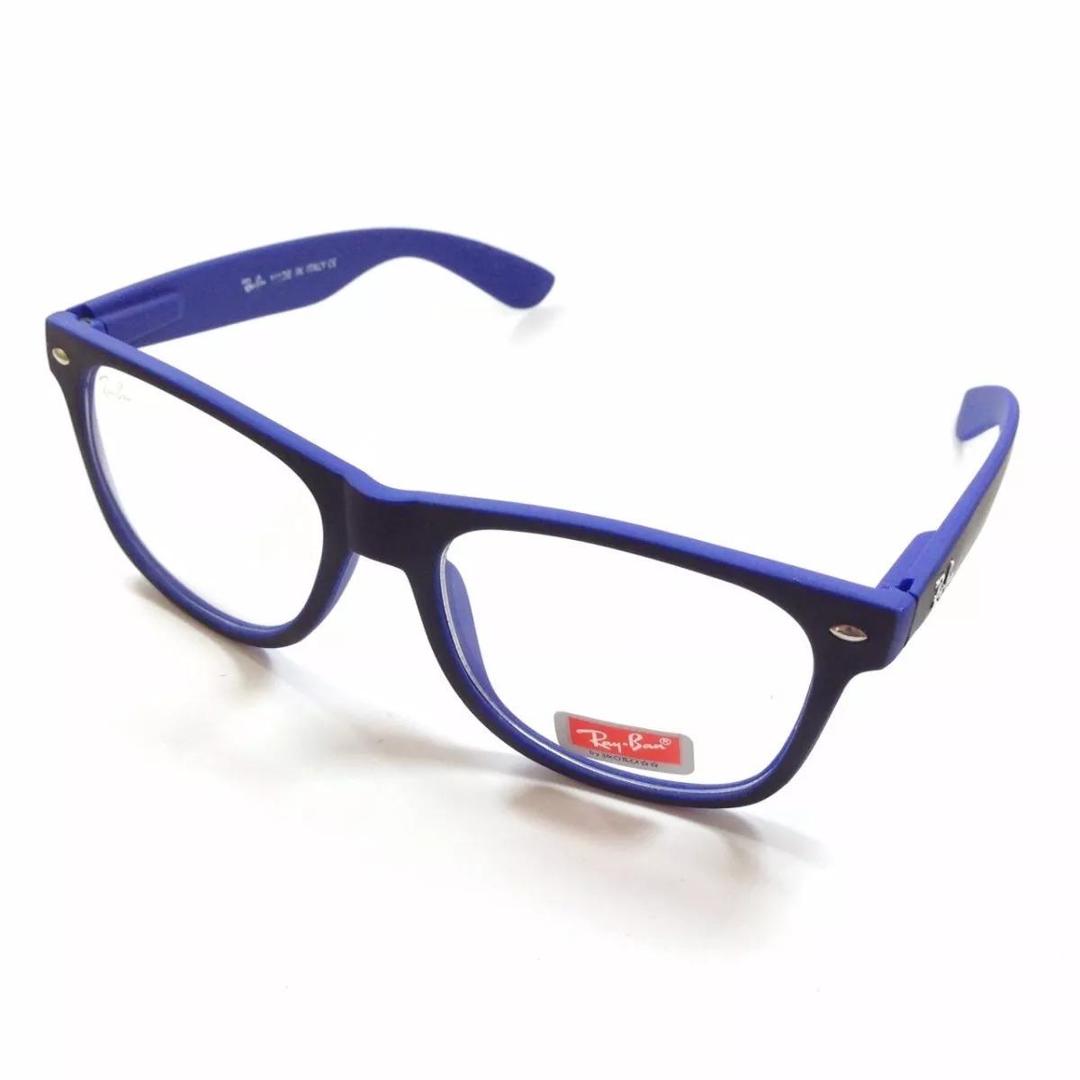 d8cee4209 armação estilo ray ban óculos grau quadrado unisexx barato. Carregando zoom.
