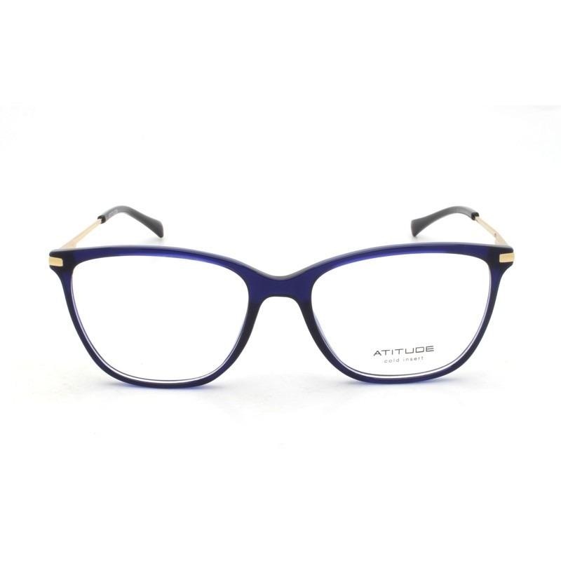 b6d420ad835ba armação feminina atitude óculos grau coleção 2019 at4113. Carregando zoom.