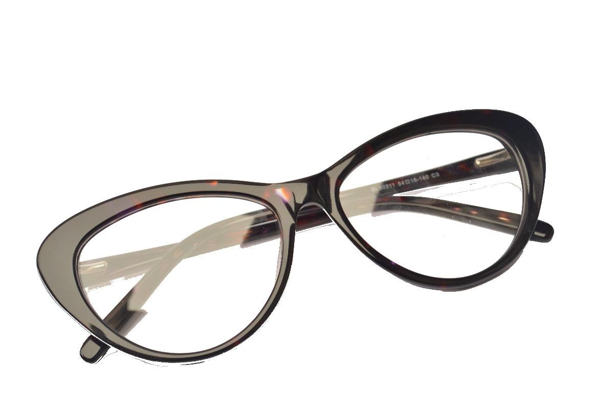 fc243d70d armação feminina elegante p/ óculos leitura +1,75 gatinho. Carregando zoom.