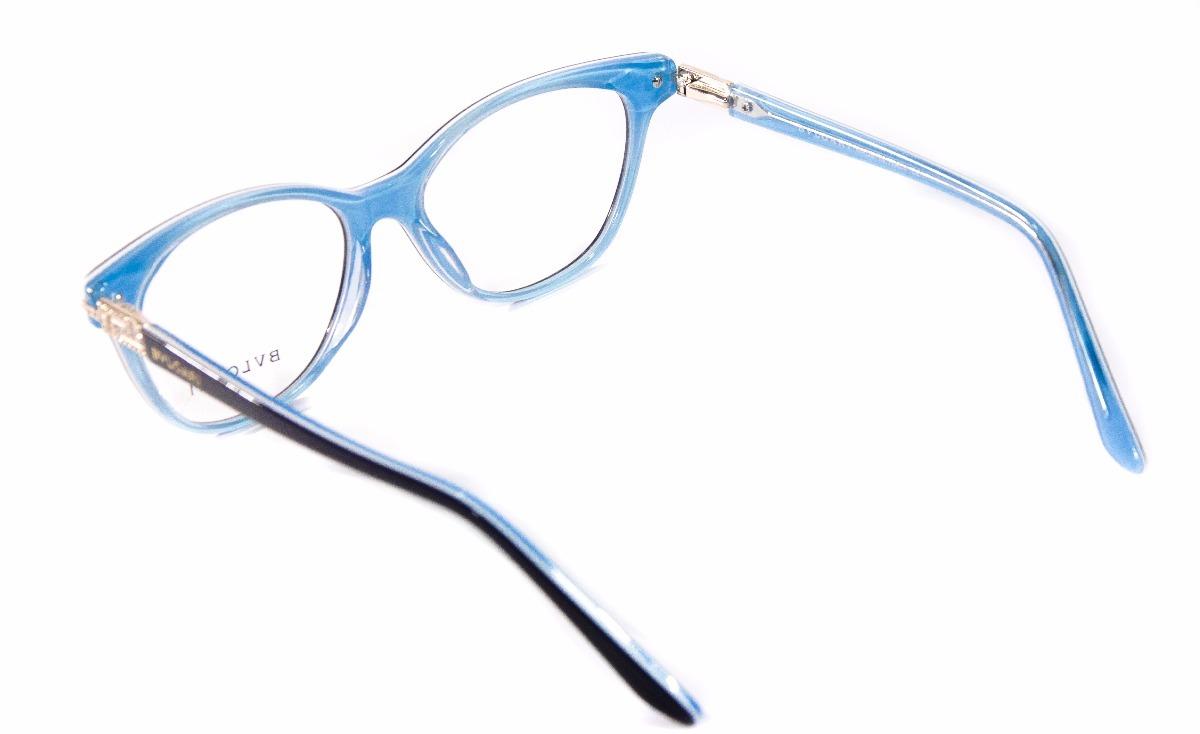 79dcbaee3 Armação Feminina Óculos De Grau Bv80589 Original Acetato - R  99