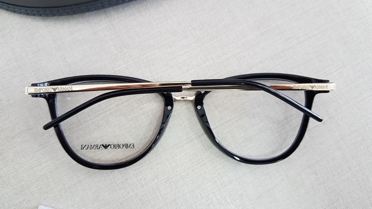 593e9f3ee4b armação feminina oculos grau emporio armani ea3137 5017. Carregando zoom.