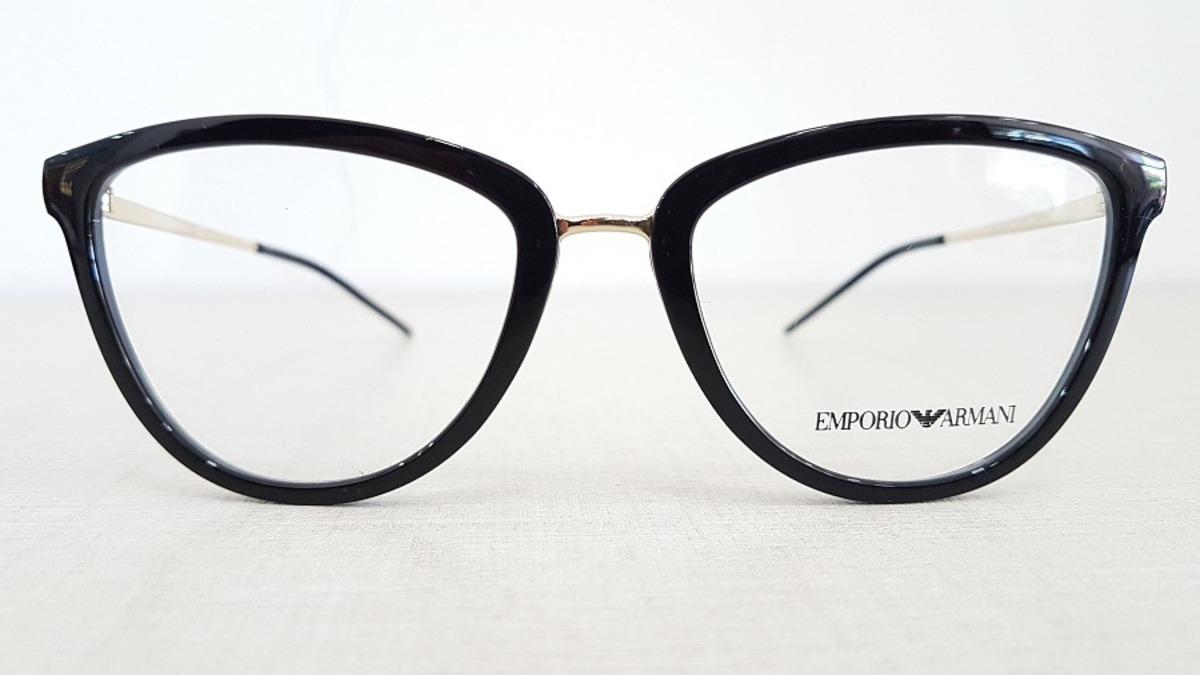 7715fc8cc426d armação feminina oculos grau emporio armani ea3137 5017. Carregando zoom.