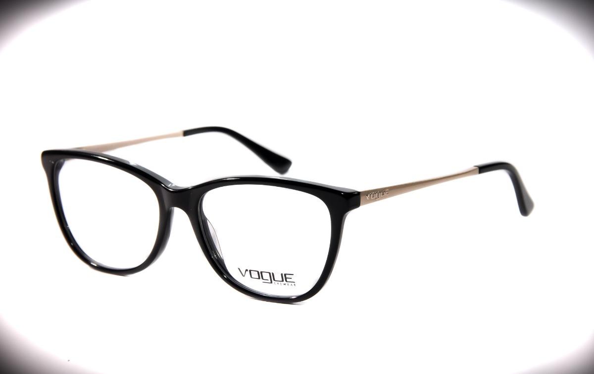 Armação Feminina P  Óculos De Grau Vogue 6556 - R  123,00 em Mercado ... db4d2e4d3b
