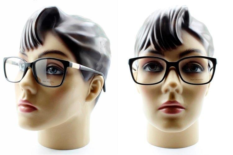 Armação Feminina Para Óculos De Grau Jean Monnier - 3117 - R  229,00 ... c2fe63235d