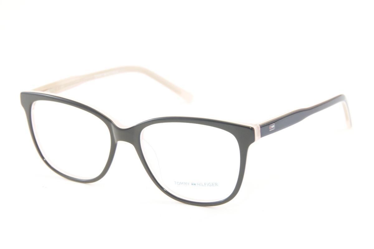 a2e4693ad1a8d armação feminina para óculos de grau tommy hilfiger 1351. Carregando zoom.