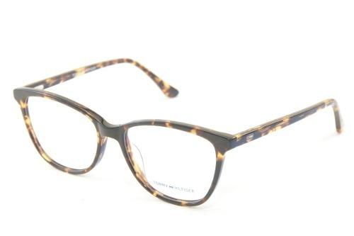 c4c5449ae77d6 Armação Feminina Para Óculos De Grau Tommy Hilfiger 1352 - R  122,00 ...