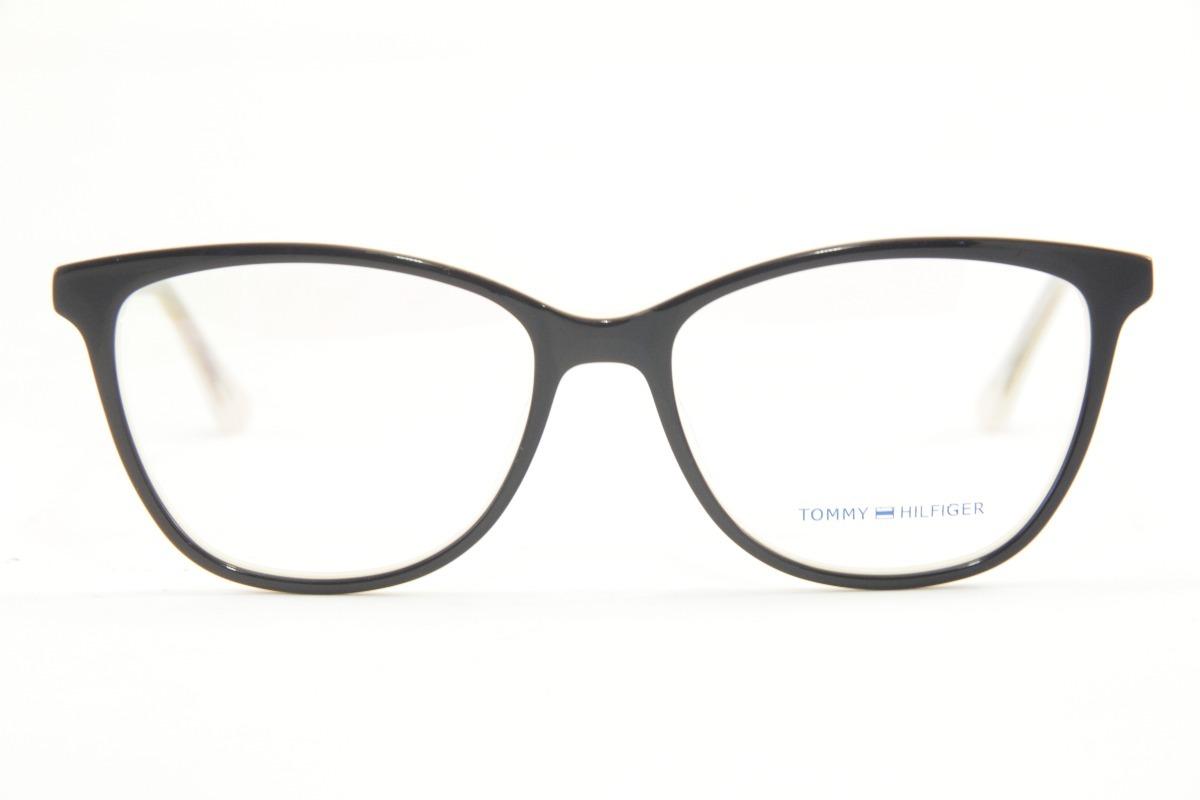 b7a2a210be313 armação feminina para óculos de grau tommy hilfiger 1352. Carregando zoom.
