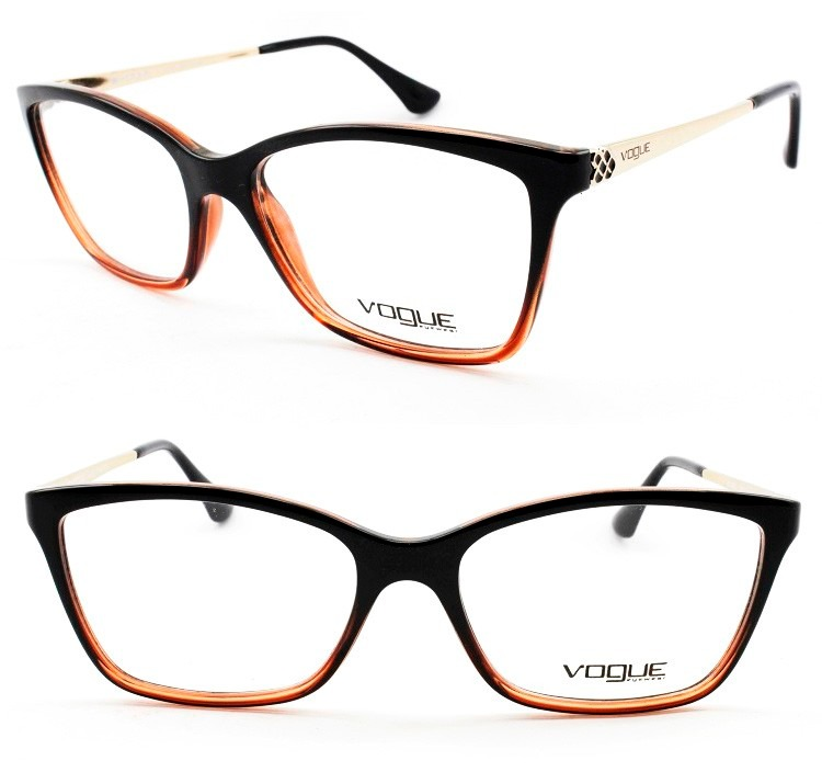 a290128e4d845 Armação Feminina Para Óculos De Grau Vogue Original - Vo5043 - R ...
