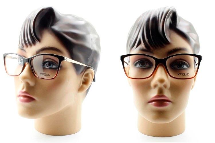 f4cea8d4a Armação Feminina Para Óculos De Grau Vogue Original - Vo5043 - R ...
