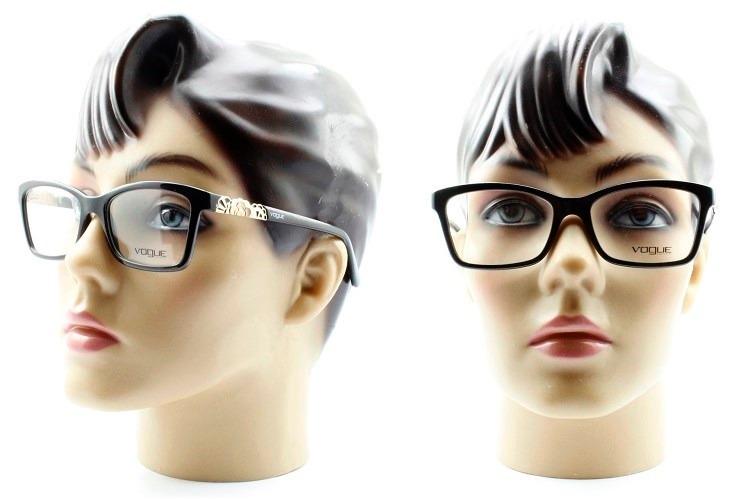 e97894c6dc721 Armação Feminina Para Óculos De Grau Vogue Vo2982 - R  349,00 em ...